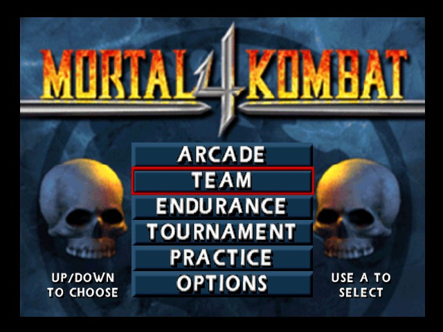 Mortal Kombat 4 - Menus Title -  - User Screenshot